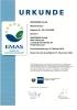 Certificado EMAS - Oberursel