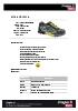 Zapatilla de seguridad deportiva Bolt