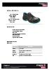 Zapato de seguridad Carbono