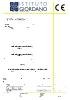 Certificate of constancy of performance - Dinamika -Bisagra para puertas - Declaration of performance CE – Ref. Ist. Giordano