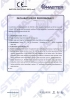 Dinamika -Bisagra para puertas - Declaration of performance CE – Ref. Ist. Giordano - A8010.11