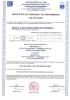 Dinamika -Bisagra para puertas - Declaración de prestaciones CE – Ref. ITB - Declaration of performance CE