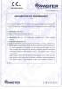 Dinamika -Bisagra para puertas - Declaración de prestaciones CE – Ref. ITB - 8010