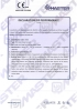 Slim Rapid - Bisagra para puertas - Declaration of performance CE - 8063