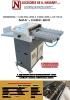 Hendidora perforadora cortadora circular NAV CIRC 600