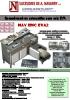 Termoencuadernadora automática cola PUR NAV ENC EVA2