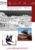 Pinzas frontales para troncos hidráulicas - 2 garras - serie L - palas cargadoras