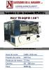 Troqueladora de plato desplazable hidráulica de 100 Ton.