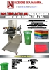 Prensa de estampación neumática especial para cajas de plástico