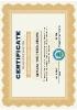 Certificado de inscripción en la agencia Norteamericana de protección medioambiental