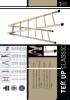 Svelt ficha técnica de escalera de madera S7