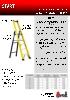 Svelt ficha técnica escalera de fibra de vidrio SMART