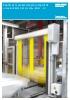 Puerta para protección de maquinaria RP300 / RP300 Wide / RP300 USD