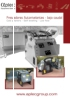 Fresadoras en frio de bajo caudal para asfalto - hormigón - autonivelantes