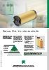 Filtros para maquinaria de electroerosión Premium y E-Line