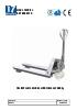 Transpaleta manual de acero inoxidable para 2.000 kg