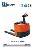 Transpaleta electrónica para 1.500 kg y 2.000 kg