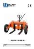 Transpaleta manual para obra para 1.200 kg