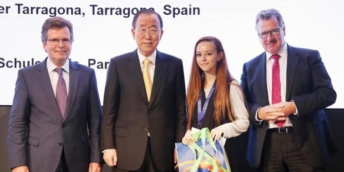 Entrevista a Ahlam Oulad Ali, estudiante de la URV premiada en las Competiciones de Debate para Jóvenes Europeos