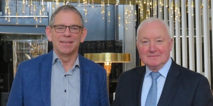 Entrevista a John W. Herbert, secretario general de Edra, y Ralf Rahmede, secretario general de Fediyma