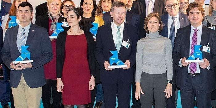36 ayuntamientos reciben las Pajaritas Azules del reciclaje de papel y cartón
