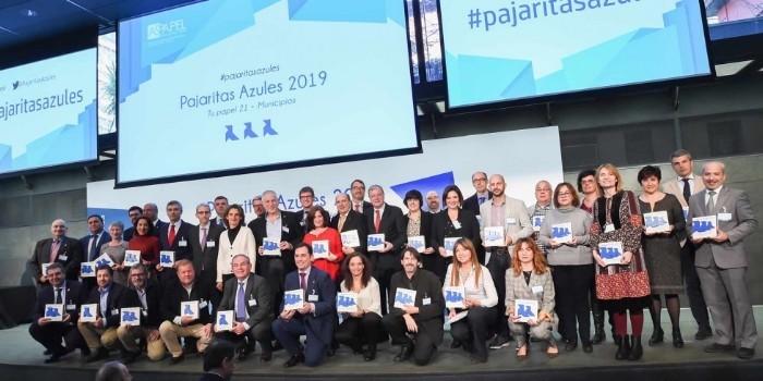 40 entidades reciben las Pajaritas Azules del reciclaje de papel y cartón