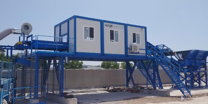 Tecymacan instala con éxito la nueva planta de tratamiento de RCD de Surge Ambiental en Alcalá de Henares (Madrid)
