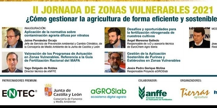 Castilla y León, que revisa su normativa, prevé doblar para 2022 la superficie de Zonas Vulnerables