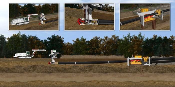 Nueva tecnología de perforación de pequeños diámetros para soterrar cables eléctricos en largas distancias