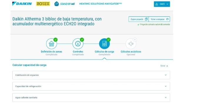 Daikin ofrece diferentes herramientas online para la preventa y la postventa de sus equipos de calefacción