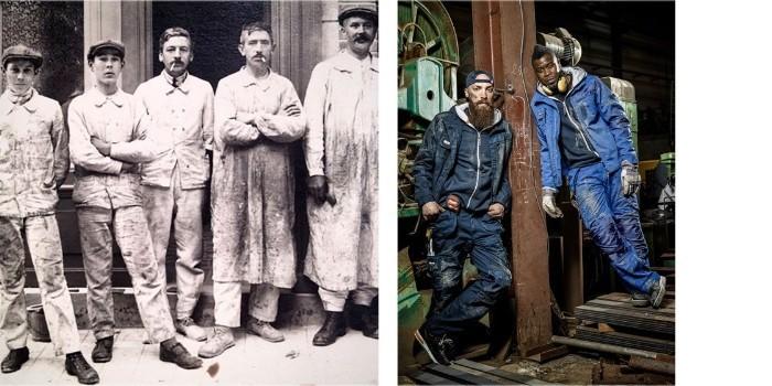 Vestuario laboral: pasado y presente