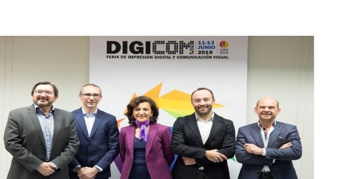 Nace Digicom, la nueva gran Feria de Impresión Digital y Comunicación del Sur de Europa
