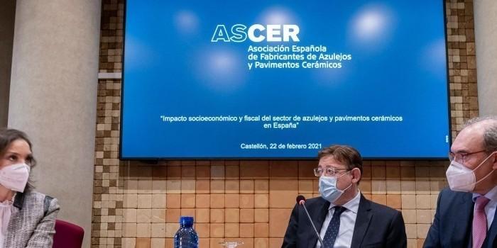 El Ministerio de Industria y el Clúster Cerámico acuerdan reactivar la agenda sectorial y mantener reuniones interministeriales