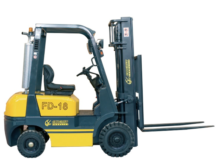 Engine powered forklift trucks (diesel, gas, ...): features and ...