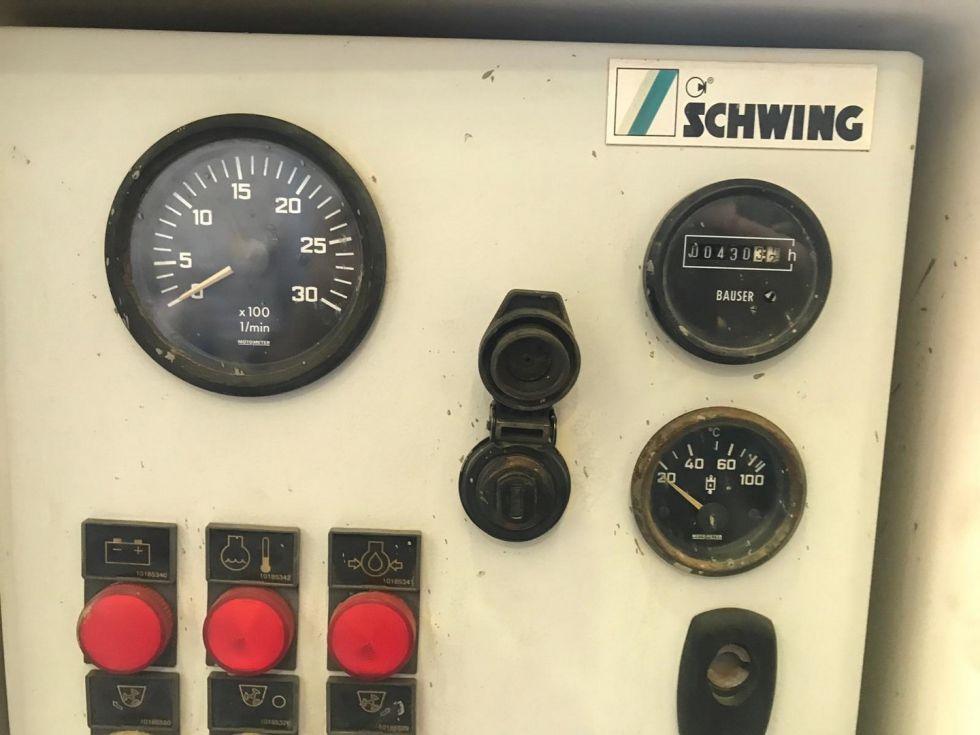 Bomba de hormigón estacionaria Schwing SP 1800