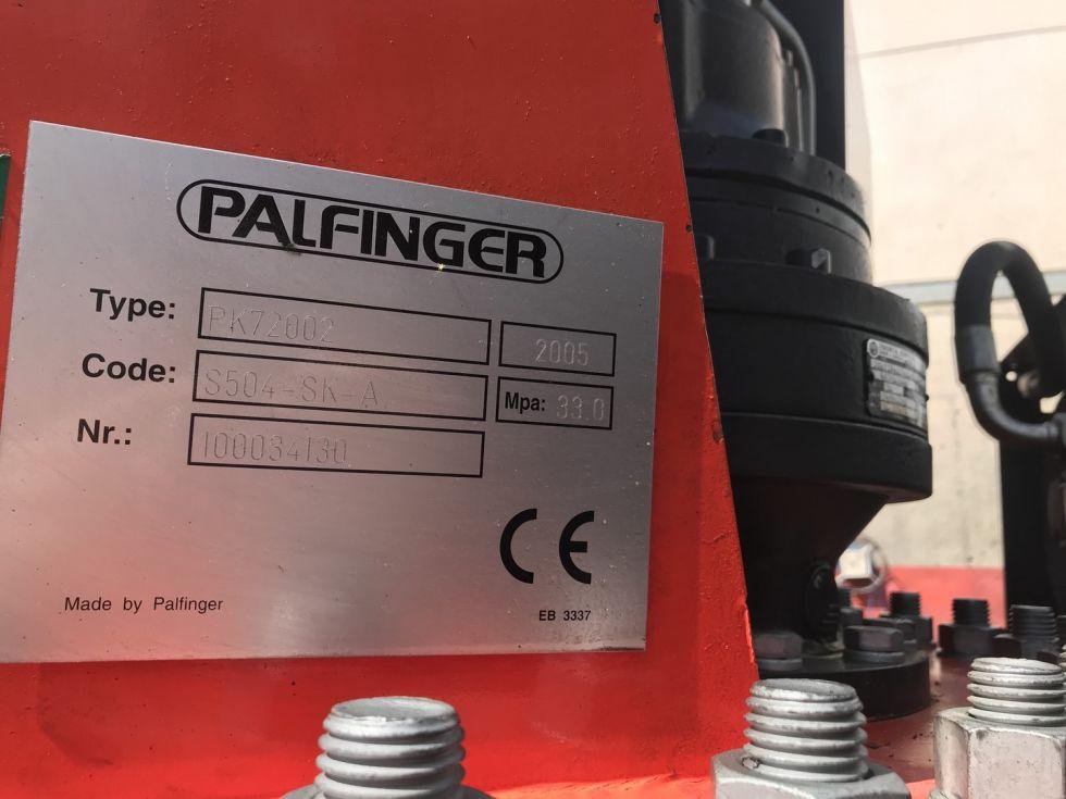Camion grua tractora Mercedes Sk 26.380 Palfinger 72002 + Jib Pj 170