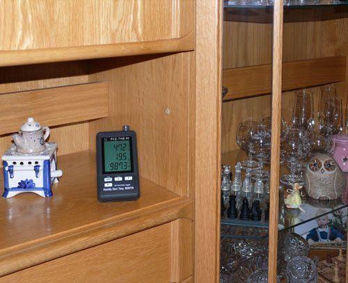 Termohigrómetro registrador