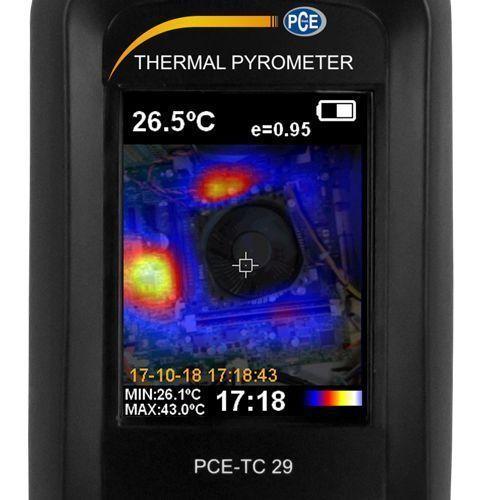Cámara termográfica para detectar puentes térmicos