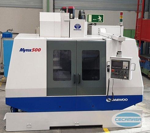 Centro de mecanizado DAEWOO MYNX 500