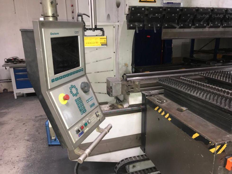 Ermak CNC Pressbrake 4100 x 500 t 5087 = Mach4metal