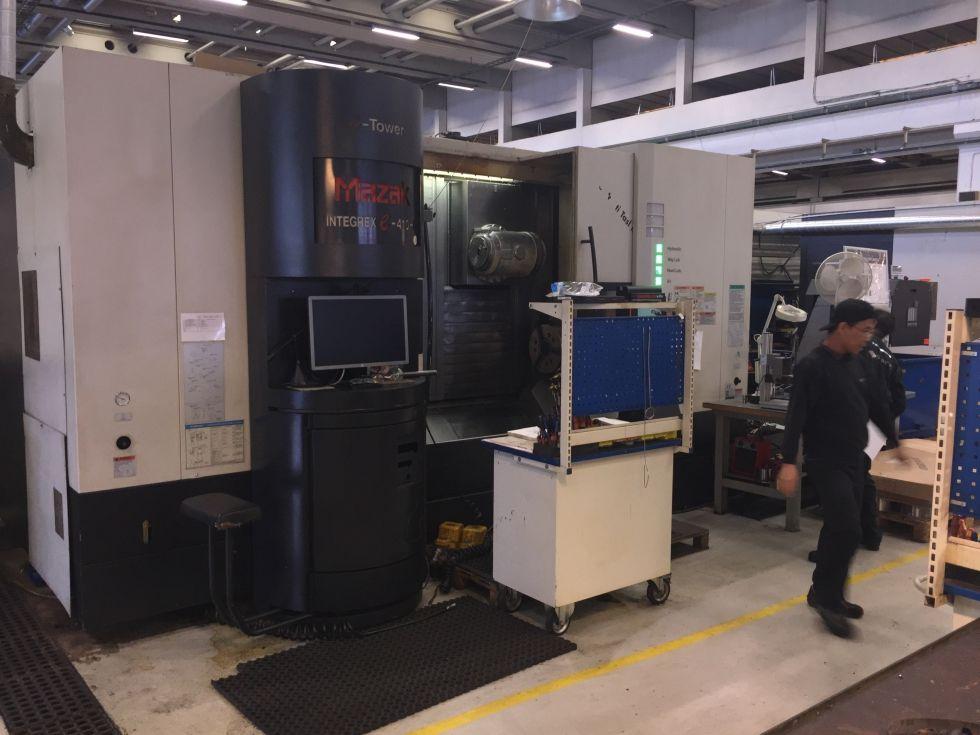 Mazak integrex e-410 HS Multi Tasking x 1500 mm 5088 = Mach4metal