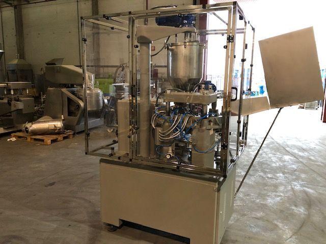 Llenadora de tubos automática para pvc UNIPAC