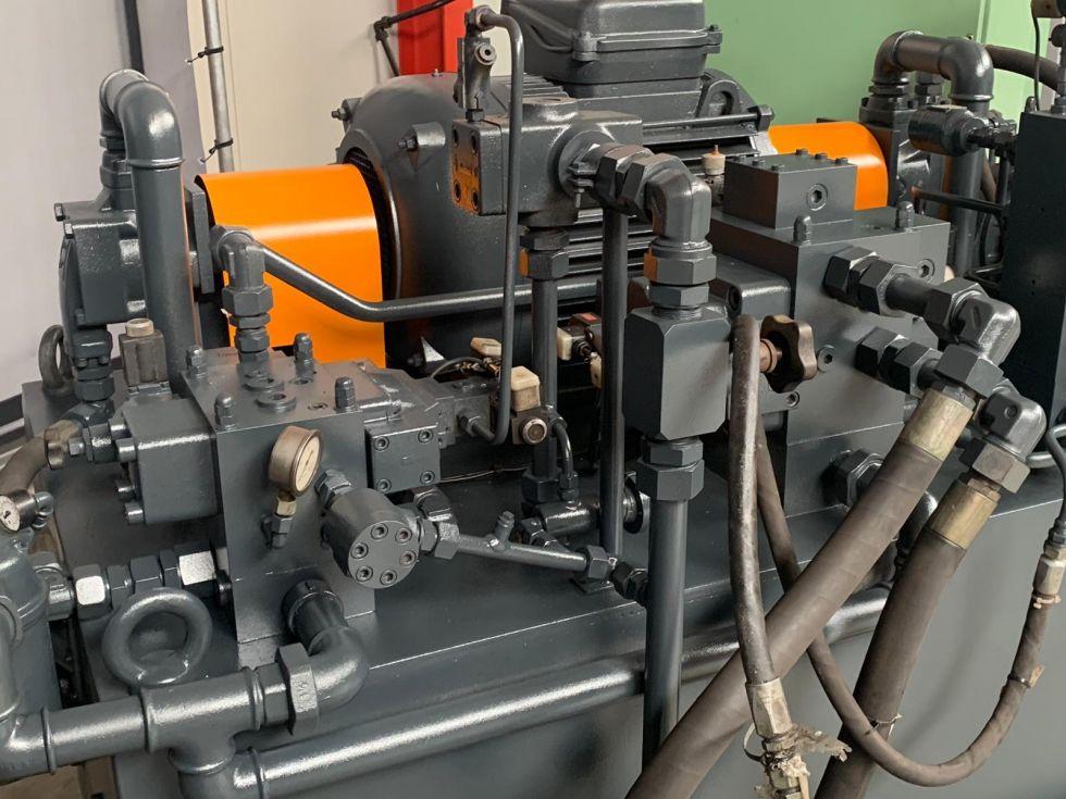 Boldrini Hydraulic 3 roll PIR 600 x 100 mm 5092 = Mach4metal