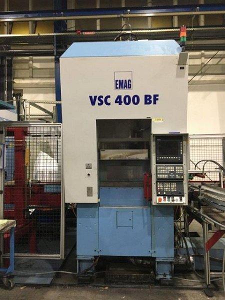 Vertical lathe CNC (pick up spindle)