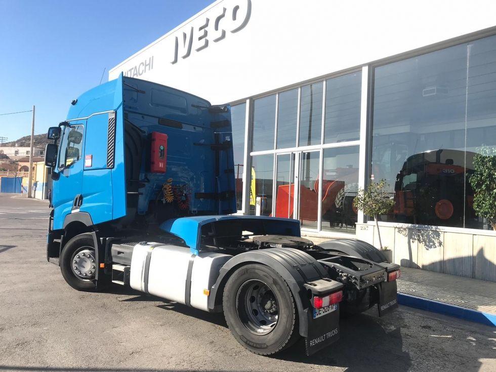 Renault t 460.19. tractora automatica + retarder. color azul
