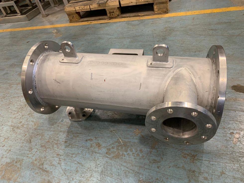 Intercambiador tubular bachiller acero inoxidable 2.5 m2 de segunda mano