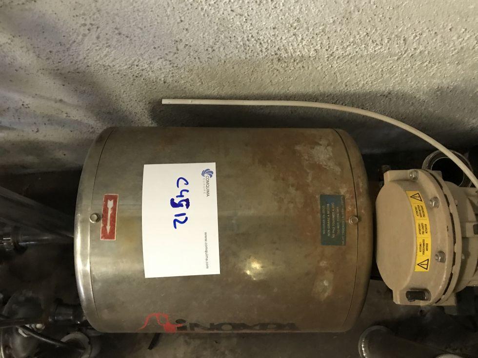 Bomba centrifuga inoxpa se-26 de segunda mano