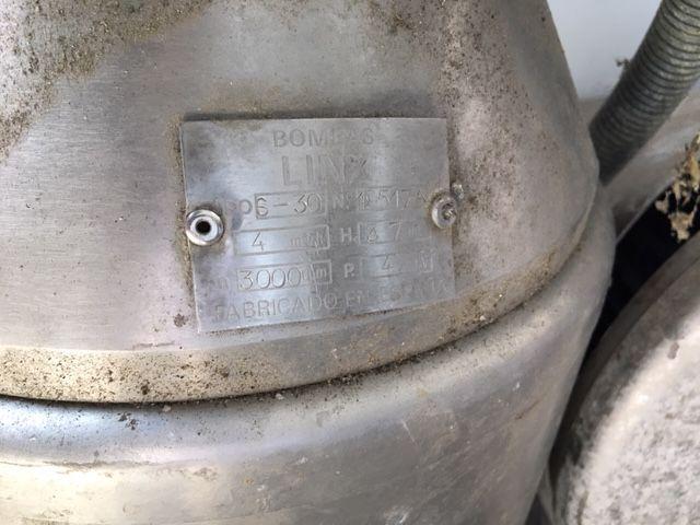 Bomba centrifuga linx s-30 acero inoxidable de segunda mano