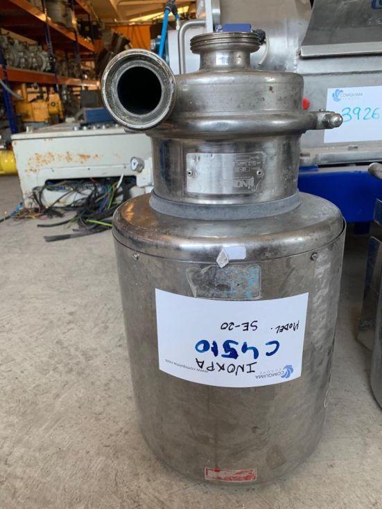 Bomba centrifuga inoxpa se-20 acero inoxidable 2.2 kw de segunda mano