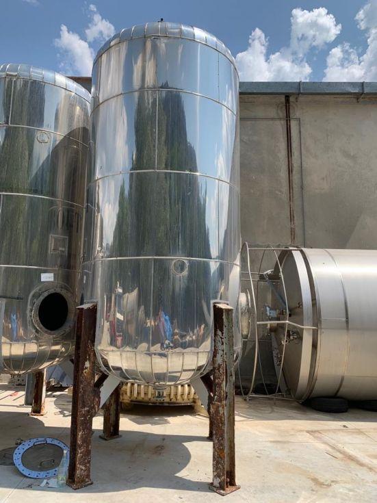 Deposito acero inoxidable 316l 10.000 litros zona apq de segunda mano